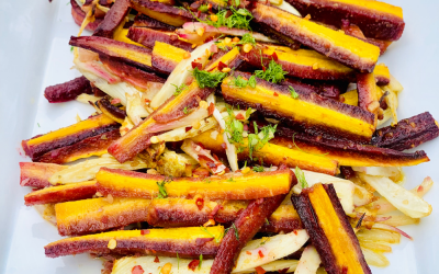 Sweet Spicy Carrots & Fennel