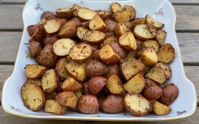 Smoky Herb Potatoes