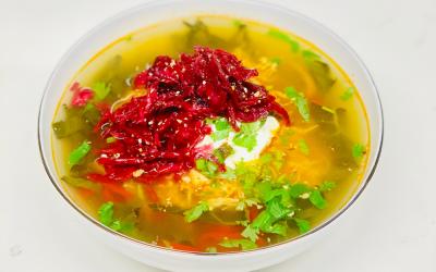 Instapot Shredded Taco Chicken Soup