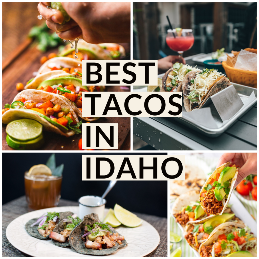 Bringing together the best places that I have had tacos in Idaho! Places that fill their tacos with quality ingredients, taste, textures & flavor! For more travel posts or recipes be sure to follow me at www.sprouting-vitality.com or on instagram @sproutingvitality.