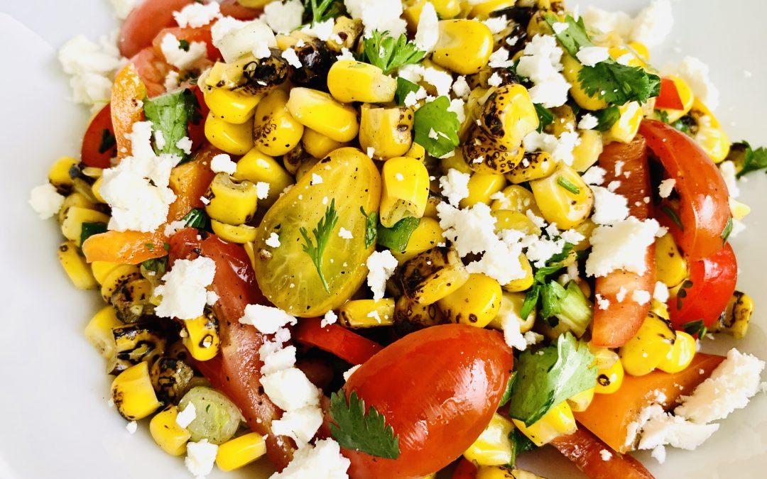 Ultimate Grilled Corn Summer Salad
