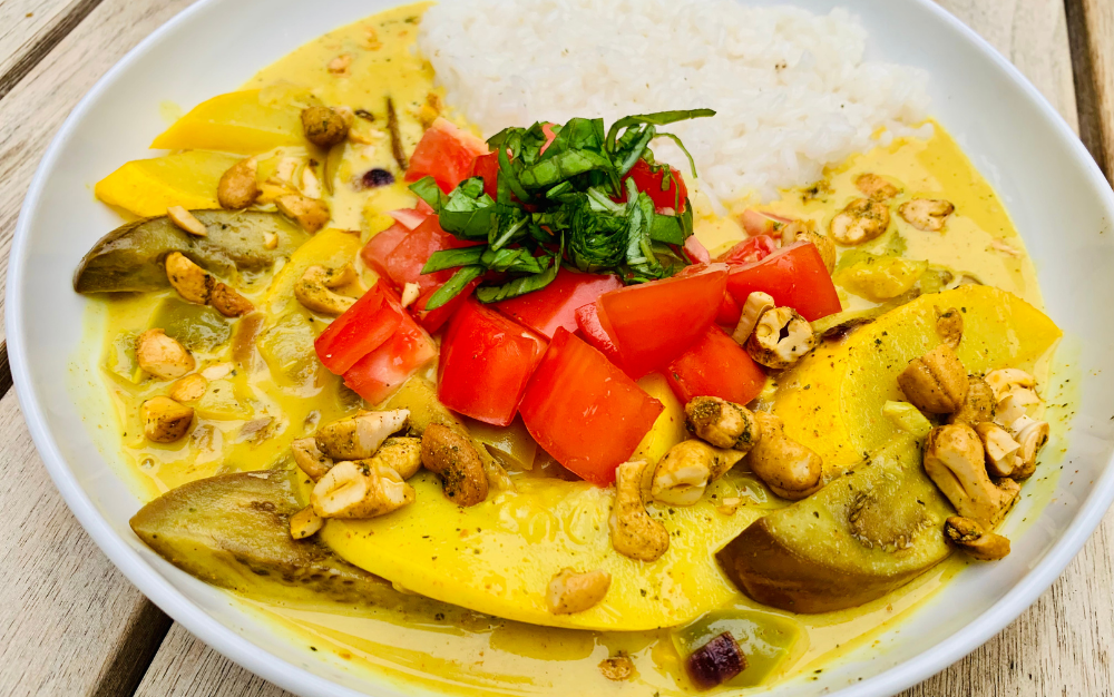 Simple Summer Vegetable Curry